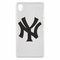 Чехол для Sony Xperia Z2 New York yankees - FatLine