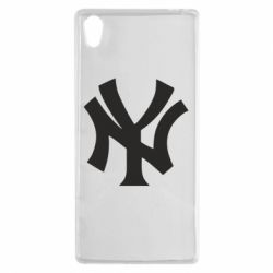 Чехол для Sony Xperia Z5 New York yankees - FatLine