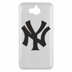 Чехол для Huawei Y5 2017 New York yankees - FatLine