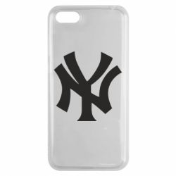Чехол для Huawei Y5 2018 New York yankees - FatLine