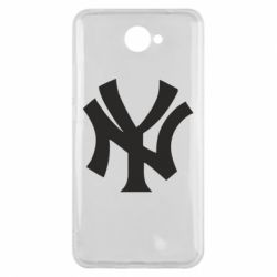 Чехол для Huawei Y7 2017 New York yankees - FatLine