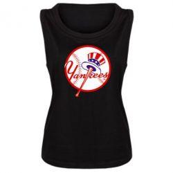 Женская майка New York Yankees - FatLine