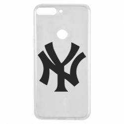 Чехол для Huawei Y7 Prime 2018 New York yankees - FatLine
