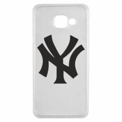 Чехол для Samsung A3 2016 New York yankees - FatLine
