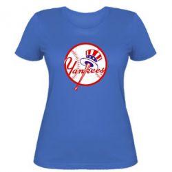 Женская футболка New York Yankees