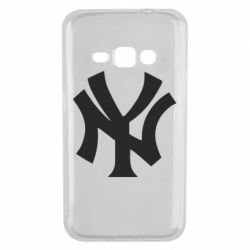 Чехол для Samsung J1 2016 New York yankees - FatLine