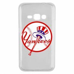 Чохол для Samsung J1 2016 New York Yankees