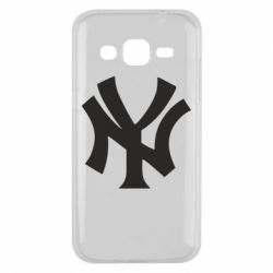 Чехол для Samsung J2 2015 New York yankees - FatLine
