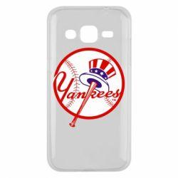 Чохол для Samsung J2 2015 New York Yankees