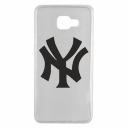 Чехол для Samsung A7 2016 New York yankees - FatLine