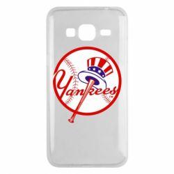 Чохол для Samsung J3 2016 New York Yankees