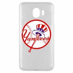 Чохол для Samsung J4 New York Yankees