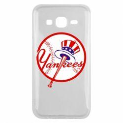 Чохол для Samsung J5 2015 New York Yankees