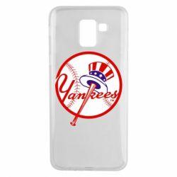 Чохол для Samsung J6 New York Yankees