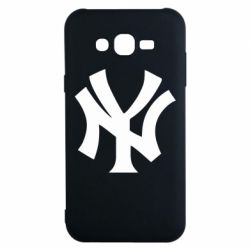 Чехол для Samsung J7 2015 New York yankees - FatLine