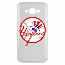 Чохол для Samsung J7 2015 New York Yankees