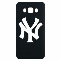 Чехол для Samsung J7 2016 New York yankees - FatLine
