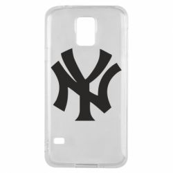 Чехол для Samsung S5 New York yankees - FatLine