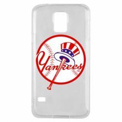 Чохол для Samsung S5 New York Yankees
