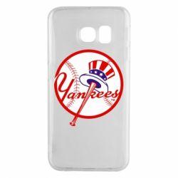 Чохол для Samsung S6 EDGE New York Yankees