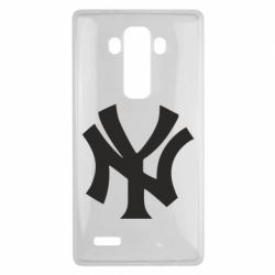 Чехол для LG G4 New York yankees - FatLine