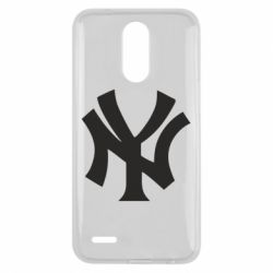 Чехол для LG K10 2017 New York yankees - FatLine