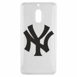 Чехол для Nokia 6 New York yankees - FatLine