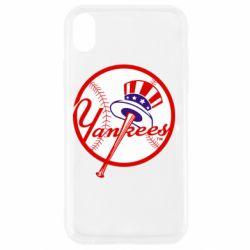 Чохол для iPhone XR New York Yankees