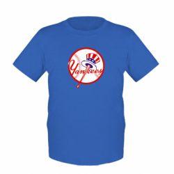 Детская футболка New York Yankees - FatLine
