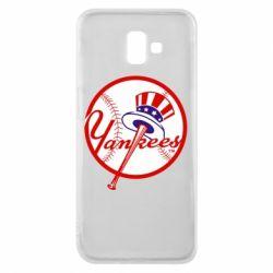 Чохол для Samsung J6 Plus 2018 New York Yankees