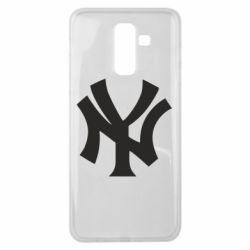 Чехол для Samsung J8 2018 New York yankees - FatLine