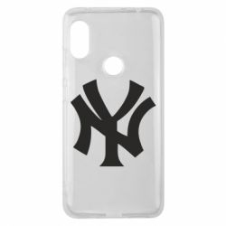 Чехол для Xiaomi Redmi Note 6 Pro New York yankees - FatLine