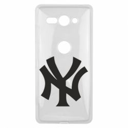 Чехол для Sony Xperia XZ2 Compact New York yankees - FatLine