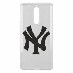 Чехол для Nokia 8 New York yankees - FatLine