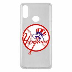 Чохол для Samsung A10s New York Yankees