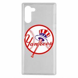 Чохол для Samsung Note 10 New York Yankees