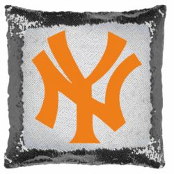Подушка-хамелеон New York yankees