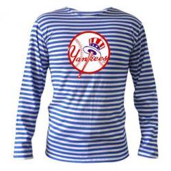Тельняшка с длинным рукавом New York Yankees - FatLine