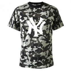 Камуфляжна футболка New York yankees - FatLine