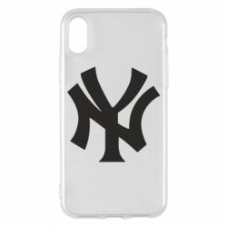Чехол для iPhone X New York yankees - FatLine