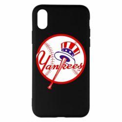 Чохол для iPhone X/Xs New York Yankees