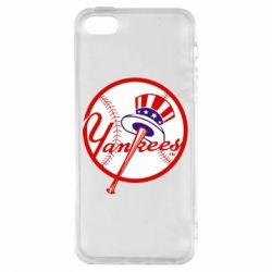 Чохол для iphone 5/5S/SE New York Yankees