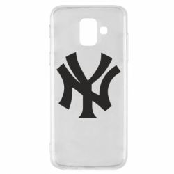 Чехол для Samsung A6 2018 New York yankees - FatLine