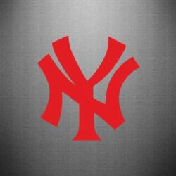 Наклейка New York yankees