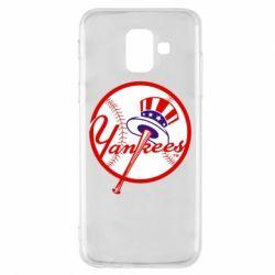 Чохол для Samsung A6 2018 New York Yankees