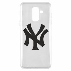 Чехол для Samsung A6+ 2018 New York yankees - FatLine