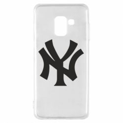 Чехол для Samsung A8 2018 New York yankees - FatLine
