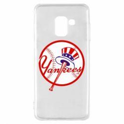 Чохол для Samsung A8 2018 New York Yankees