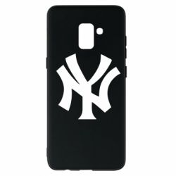 Чехол для Samsung A8+ 2018 New York yankees - FatLine