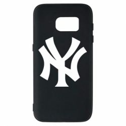 Чехол для Samsung S7 New York yankees - FatLine